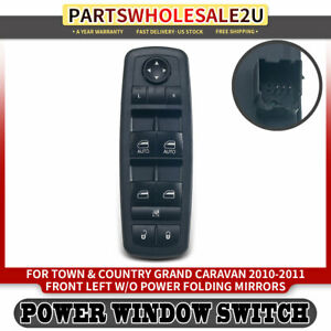 Window Switch Driver 3 Pins For Chrysler Town Country Grand Caravan 2010 2011