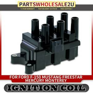 Ignition Coil Pack For Ford F 150 E 150 Ranger Taurus Mustang Mercury Mazda 6cyl