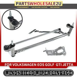 Windshield Wiper Transmission Assembly For Volkswagen Eos Golf Gti Jetta Rabbit