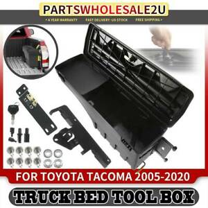 Right Truck Bed Storage Box Toolbox For Toyota Tacoma 2005 2019 2020 Cab Pickup