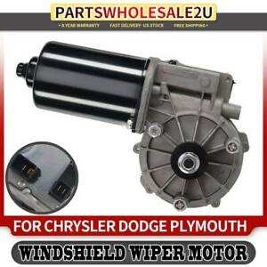 New Wiper Motor Front For Chrysler Voyager Dodge Plymouth Town Country 40 3001
