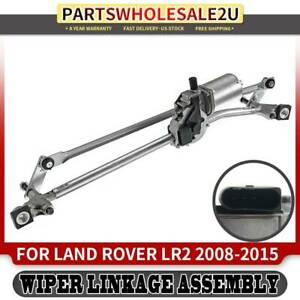 Windshield Wiper Linkage Assembly For Land Rover Lr2 2008 2015 With Motor Front