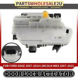 Rear Left Door Lock Actuator For Ford Edge Lincoln Mkx 2007 2015 7t4z7826413c