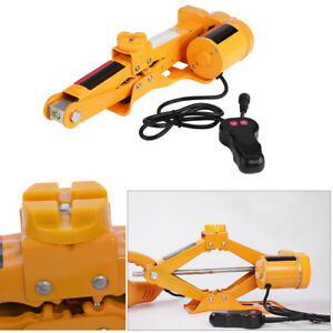 2 Ton Automotive Electric Scissor Car Jack Lift Repair Power Vehicle 12v Dc
