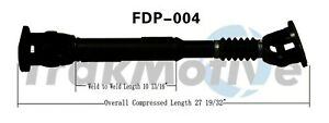 Drive Shaft Assembly Rear Surtrack Fdp 004 Fits 90 96 Ford Bronco