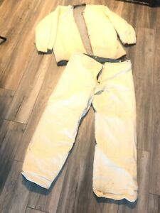 Globe Firefighter Suits Fire Turnout Pants Jacket Bunker Gear Sz 42 X 36