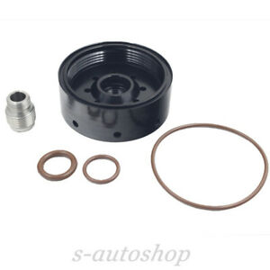 Fit 6 6l Duramax Cat Fuel Filter Adapter 1r 0750 For Chevy Gmc 2001 2016