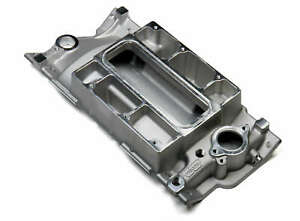 Weiand 177 Pro Street Supercharger Intake Manifold Satin For Sb Chevy