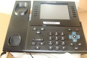 Cisco Cp 9971 c cam k9 Voip Ip Phone Color Touchscreen With Camera