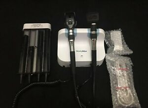 Welch Allyn Gs777 3 5v Wall Transformer Ophthalmoscope Otoscope Diagnostic Set