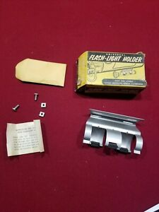 Vintage Flashlight Holder Accessory Nos
