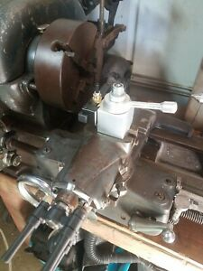 Atlas Craftsman Lathe 6 8 And 10 In Quick Change Tool Holder