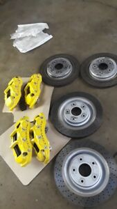 2007 2013 Corvette C6 Z06 And Grand Sport Calipers rotors pads front Brake Lines