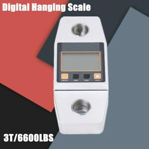 3t Industrial Digital Hanging Crane Scale Heavy Duty Weighing Scale Lcd Display