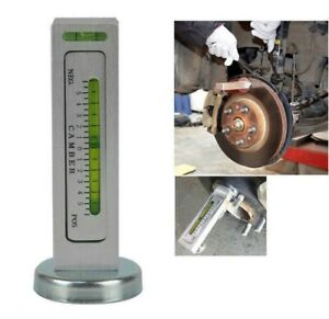 Magnetic Car truck Alignment Gauge Vehicle Level Wheel Camber castor Tools Us