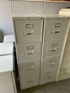 4 Drawer Letter Size File Cabinet By Hon Office Furniture W lock