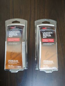 3m Leather Vinyl Repair Kit Furniture Car Seat Couch Filler Patch 2pk