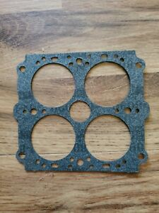 New Holley Carburetor Baseplate To Body Gasket 1 7 16 Bore 390 450 600 Cfm