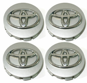 Silver Wheel Center Caps Hubcaps For 05 12 Toyota Avalon Sienna Oem 2 5 4pc