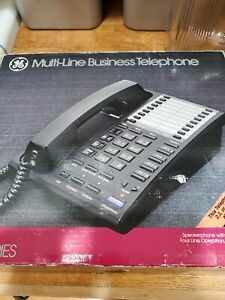 New In Box Ge Multi line Business Telephone 2 9450 Desktop Phone 4 Line Capacity