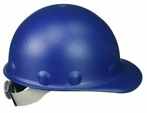 Fibre metal Roughneck Blue Fiberglass Cap Style Hard Hat 8 point Suspension