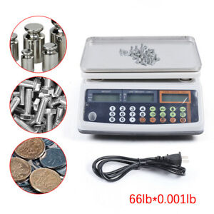 66lb X 0 001 Lb Digital Scale Food Produce Electronic Counting Weight 30kg Usa