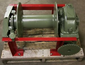 Heil Winch Pto 30000lb Heavy Duty Winch