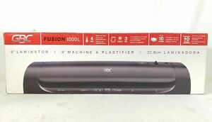 Gbc Fusion 1000l 9 Thermal Laminator Plastifier Machine Black