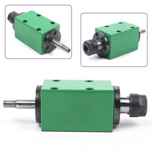 New Er16 Spindle Unit Mechanical Power Head 4 Bearing For Cnc Drilling Milling