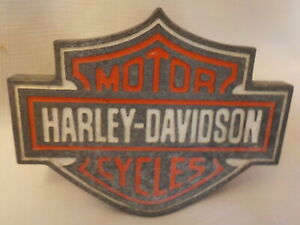 Harley Davidson Motor Cycle Trailer Metal 3d Universal Receiver Hitch Plug Cover