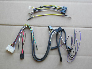 Main And Dash Wiring Harnesses For Ih International 154 Cub Lo boy 185