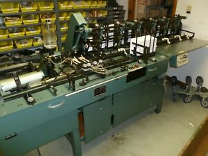 Mailcrafter Inserter 9800 6pm Used Six Station Inserter W Turnover Conveyor