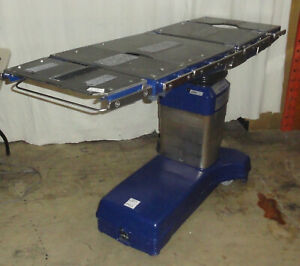 2007 Maquet Alphastar Alpha Star 1132 12b2 O r Operating Room Surgical Table Sk2