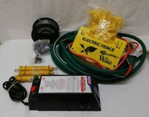 Fi shock Ss 1000x Heavy Duty Fence Energizer For Livestock And Accesorries