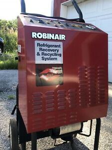 Robinair 17400 A c R12 Air Conditioning Machine Recovery Recycle