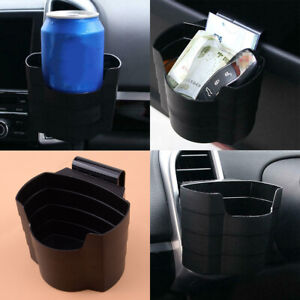 Universal Car Cup Holder Air Vent Mount Drink Cup Bottle Can Holder Organizer