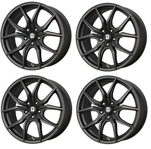 Drag Dr 67 Wheels 20x8 5 5x114 3 Matte Black Rims For Honda Accord Acura Tl Tlx