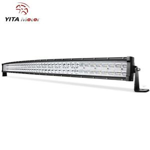 Curved 52inch 900w Lamp Led Light Bar Combo Truck Offroad Lamp Boat Driving Suv