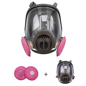 6800 Painting Spraying For Full Face Suit Gas Mask Facepiece Respirator Hb