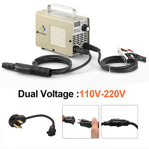 Hitboxarc Welder 110 220v Dual Volt 200a Inverter Mma Arc Stick Welding Machine