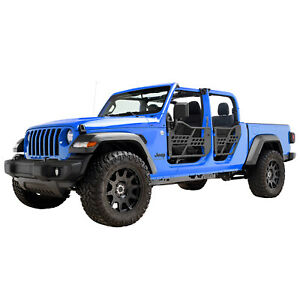 Off Road Safari Tubular Door With Side View Mirror Fit 2020 Jeep Gladiator Jt