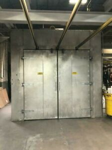 Gfs Pass though Powder Coat Curing Oven