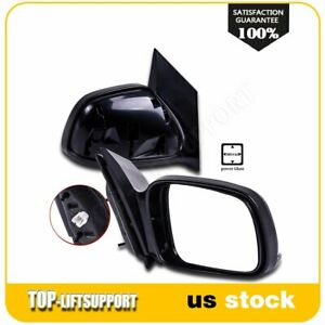 For 2006 07 08 09 10 2011 Honda Civic 2 Door Coupe Power Side View Mirrors Pair