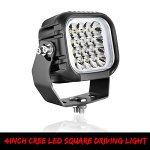 96w Cree Led Light Spot Beam Driving Truck Off road Bumper Fog Lamp Work Square