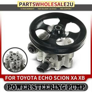 Power Steering Pump With Pulley For Toyota Echo 2000 2005 Scion Xa Xb 2004 2006