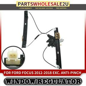 Window Regulator W Motor Front Right For Ford Focus 2012 2016 2017 2018 751 775