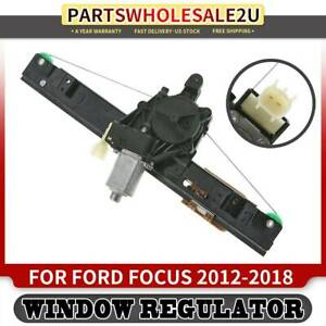 Window Regulator Motor Rear Right For Ford Focus 2012 2013 2018 Exc Anti Pinch