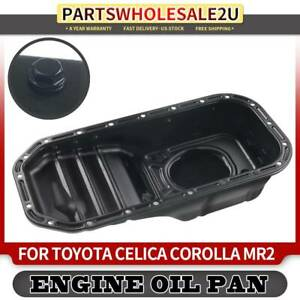 Engine Oil Pan For Toyota Corolla 1989 1990 1991 1992 L4 1 6l