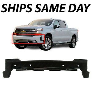 New Primered Front Bumper Face Bar For 2019 2020 Chevy Silverado 1500 W Park