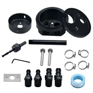 Diesel Gas Fuel Tank Sump Set Kit For Cummins Pump Duramax Powerstroke Universal
